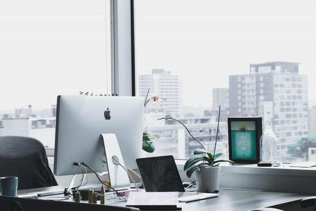 iMac in office