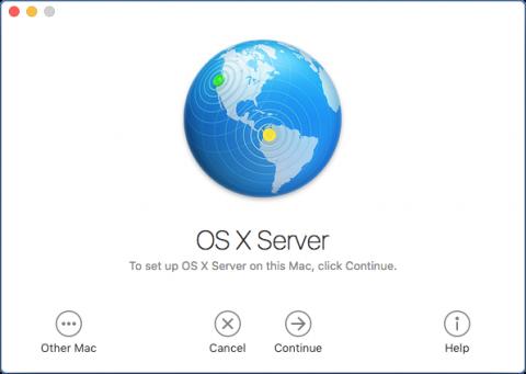 macOS Server Screenshot